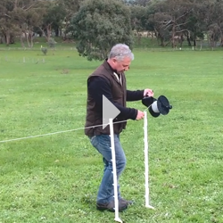 Multi-Wire-Strip-Grazing Electiric Fencing Video