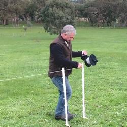 O'Briens Multi-wire Strip Grazing Fence