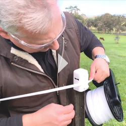 Horse FEnce Electiric Fencing Video
