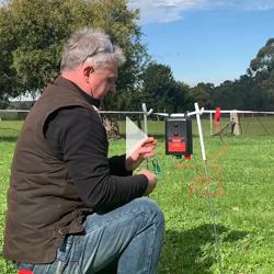 Battery-Energiser Electiric Fencing Video