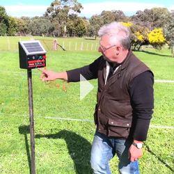 Solar-Energiser Electiric Fencing Video